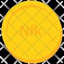 Coin Gold Eritrea Icon