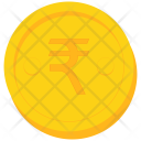 Coin Gold India Icon