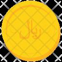 Coin Gold Iran Icon