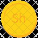 Coin Gold Kenyan Icon