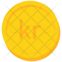 Coin Gold Krona Icon