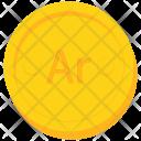 Coin Gold Malagasy Icon
