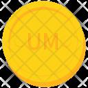 Coin Gold Mauritania Icon