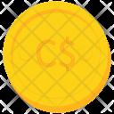 Coin Gold Nicaragua Icon
