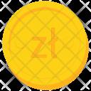 Coin Gold Poland Icon