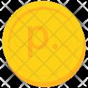 Coin Gold Russia Icon