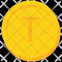 Coin Gold Samoa Icon