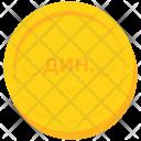 Coin Gold Serbia Icon