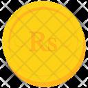 Coin Gold Seychellois Icon