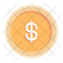 Coin Dollar Money Icon
