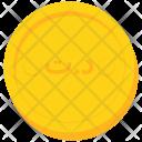 Coin Gold Tunisia Icon
