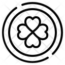Saint Patrick Day Out Line Icon Created Base On Pixel Perfect Grid 64 X 64 Pixel Icon