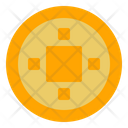 Coin Chinese Coin Money Icon