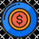 Coin Money Finnance Icon