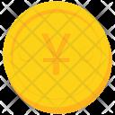Coin Gold Yen Icon