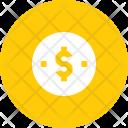 Coin Dollar Dime Icon