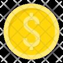 Coin Dollar Gold Icon