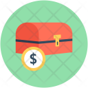 Coin Box Money Icon