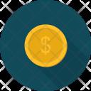 Coin Shopping E Commerce Icon