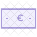 Coin Euro Cash Icon