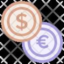 Coin Money Exchange Icon