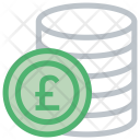 Coin Pound Sterlingn Icon