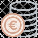 Coin Euro Europe Icon