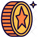 Coin Star Chip Icon