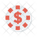 Coin Dollar Income Icon