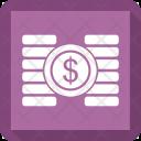 Coin Dollar Finance Icon