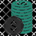 Coin Money Dollar Icon