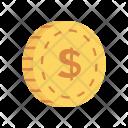 Coin Dollar Earing Icon