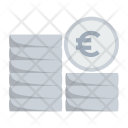 Coin Cash Euro Icon