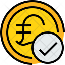 Coin P Check Icon