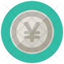 Yen Coin Cash Icon