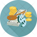 Coin Coins Dollars Icon