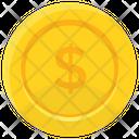Coin Gold Single Icon