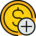 Coin S Add Icon