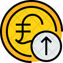 Coin P Arrow Icon