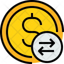 Coin S Exchange Icon