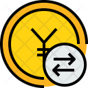 Coin Y Exchange Icon