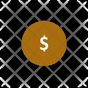 Coin Connect Dollar Icon