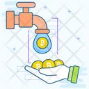 Coin Faucet Icon