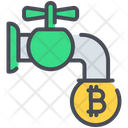 Coin Cryptocurrency Faucet Icon