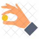 Coin Holding Icon