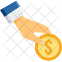 Coin Hand Gesture Icon