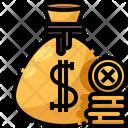 Coin Sack Coin Bag Coins Icon