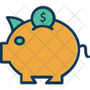 Coin Savings Investment Money Savings Icon
