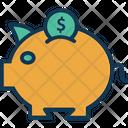 Coin savings Icon