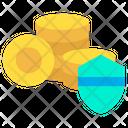 Cion Shield Coin Protection Icon